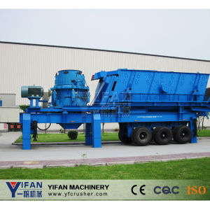 Yifan Patented Technology Mobile Rubber-Tyred Crusher pictures & photos