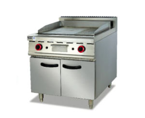 Gas Griddle with Cabinet (GH-786) pictures & photos