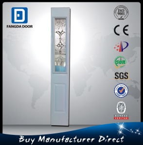 Small Exterior Door with Decorative Glass Inserted pictures & photos