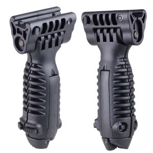 Tactical Foregrip Rail Mount Foldable Bipod