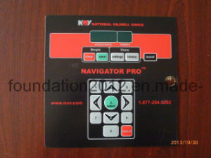 Waterproof 3m Adhesive Panel Control Keypad Electronic Windows Membrane Switch pictures & photos