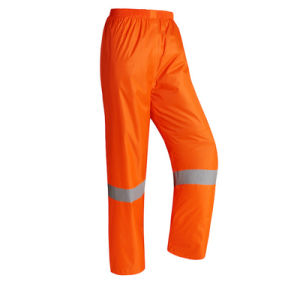 Reflective Work Clothes Sanitation Long Sleeves Cleaning Servic Road Railway Construction Rain Clothes pictures & photos