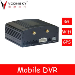 4channel Hard Disk Mobile Digital Video Recorder, Car DVR pictures & photos
