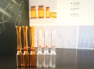 1ml Neutral Borosilicate Glass Clear or Amber Ampoule with Breaking Ring pictures & photos