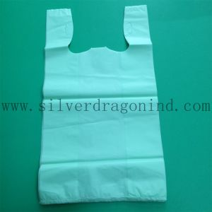 Compostable 60X40cm Cornstarch Plastic Carrier Bio Based Bag pictures & photos