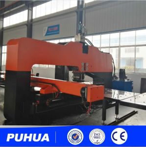 Qingdao Amada Thick Plate CNC Hydraulic Punching Machine pictures & photos