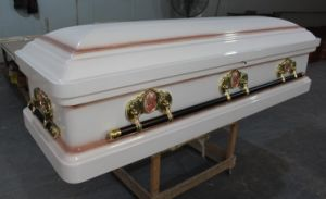 American Style Casket with Paulownia Wood pictures & photos