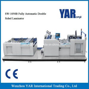 Sw-1050b Fully Automatic Double Sided Film Laminating Machine with Ce pictures & photos