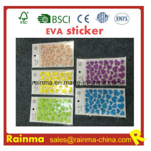 Adhesive Letters EVA Foam Wall Sticker and Custom EVA Sticker pictures & photos