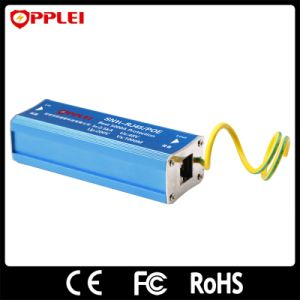 RJ45 Power Over Ethernet Poe Lightning Surge Protector pictures & photos