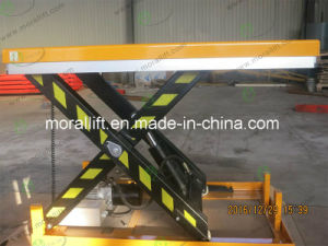 CE Certification Portable Hydraulic Scissor Lift pictures & photos