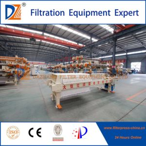 Dz Hydraulic Semi-Automatic Filter Press for Sludge Dewatering pictures & photos