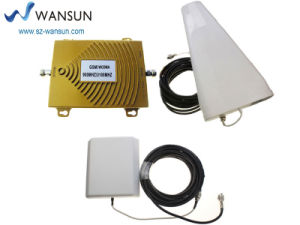 Wansuntone 17c61p3 GSM WCDMA 900MHz 2100MHz Dual Band Cell Phone 2g 3G Signal Booster Repeater Amplifier