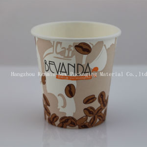 Single Wall Paper Cup (shiny/ gloss printing) for Hot Drink-Swpc-38 pictures & photos
