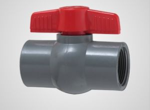 CPVC Compact Ball Valve Thread (V04) pictures & photos