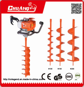 Gas Earth Drill Manual Hand Drilling Machine pictures & photos