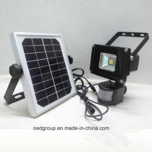5W Solar Power LED Flood Light with PIR Sensor pictures & photos