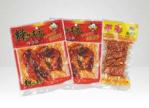 Customized with Your Logo Printing Vacuum Food Plastic Bag pictures & photos
