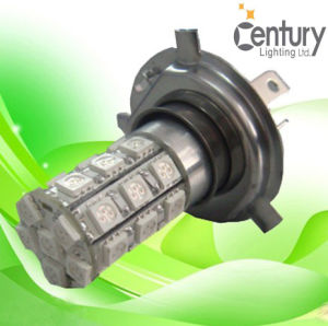 High Brightness 27SMD5050 H4 H7 LED Auto Light pictures & photos