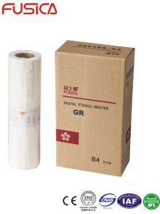 Gr B4 Master Roll for use in Riso Duplicator