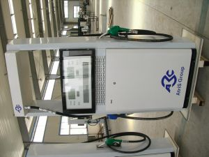 Two Nozzle One Pump Oil Station Fuel Dispenser pictures & photos