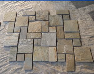 Natural Slate Mosaic Pattern for Walling Decoration and Flooring pictures & photos