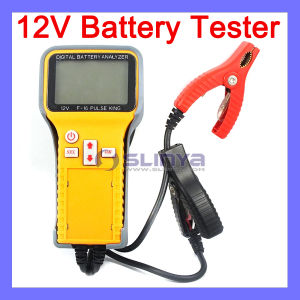 2.6 Inch LCD Voltage CCA Resistance Testing 12V Digital Battery Tester Car Battery Analyzer pictures & photos