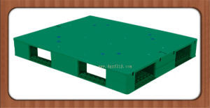 1200*1000*150mm Heavy Duty Flat Recyclable Plastic Shipping Pallet for Logistics pictures & photos