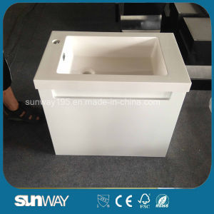 New Design MDF Bathroom Furniture with Certificate (SW-1323) pictures & photos