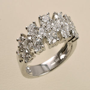 Gold Diamond Wedding Ring (9148)