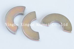 Arc Magnet Size Is Od25xid20X180° X2mm Use in Motor with Nickel Coating