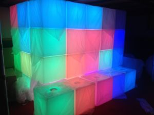 LED Cube Chair Table RGB 40cm 50cm 80cm pictures & photos