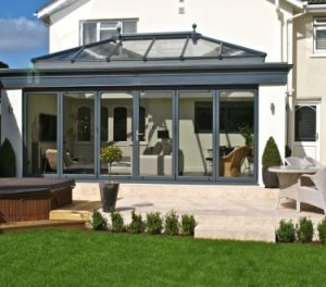Sound Insulated Double Tempered Glazed Aluminium Glass Sunroom, Aluminum Conservatory (TS-625) pictures & photos