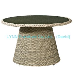 Garden Furniture Dining Table Outdoor Round Rattan Table pictures & photos