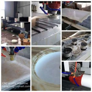 Stone Counter Top Profile Making Machine CNC Stone Bench Top Profile Machine Stone Profile Making Machine