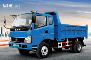 2WD Waw Dump Cargo Diesel New Truck for Sale From China pictures & photos