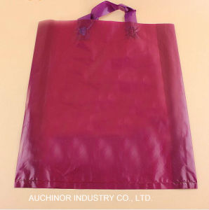 High Quality Printing Plastic Shopping Soft Loop Handle Bags pictures & photos