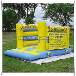 Small Size Inflated Bouncy Castle Printed with Customized Logo