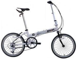 Simple Folding Bike Easy Carrying Folded Bicycle Family Scooter Vehicle Monca Best Quality pictures & photos