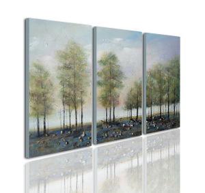 Modern Hand-Painted Canvas Wall Art