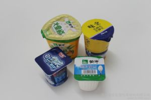 Customized Yogurt Cups Aluminium Foil Sealing Lids Food Packing pictures & photos