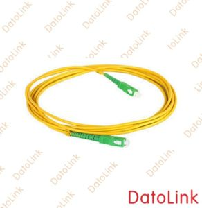 Fiber Optic Sc/APC Singlemode Simplex Patch Cord pictures & photos