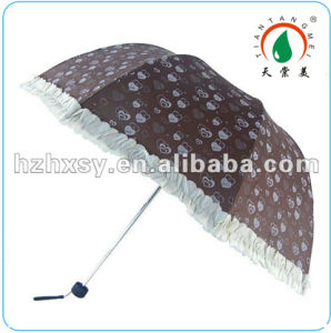 Mini Sweet Printing Nice Apollo Lace Umbrella for Girls