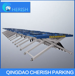 2700kg Weight No Need to Install Scissor Auto/ Car Lift pictures & photos