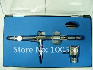 Free Shipping! New 0.3mm Dual-Action Airbrush Gun Gravity Paint Tattoo (PR-202) pictures & photos