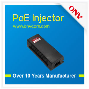 10/100/1000m IEEE802.3at Single Port Poe Injector in High Quality (PSE3101ACG-at)