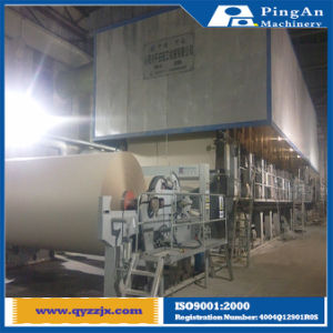 4200mm Fourdrinier Multi-Cylinder Ordinary Corrugated Paper Making Machine