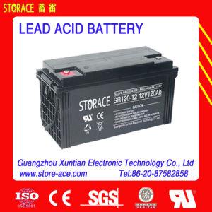 12V 120ah SMF Value Regulated AGM Lead Acid Battery (SR120-12) pictures & photos