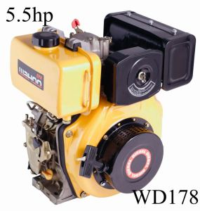 6HP 3600rpm Yanmar L70V CE Approval Diesel Engine (WD178) pictures & photos
