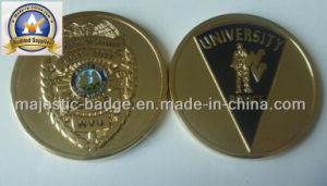 3D Customized Police University Challenge Coin Mj-Coin-001 pictures & photos